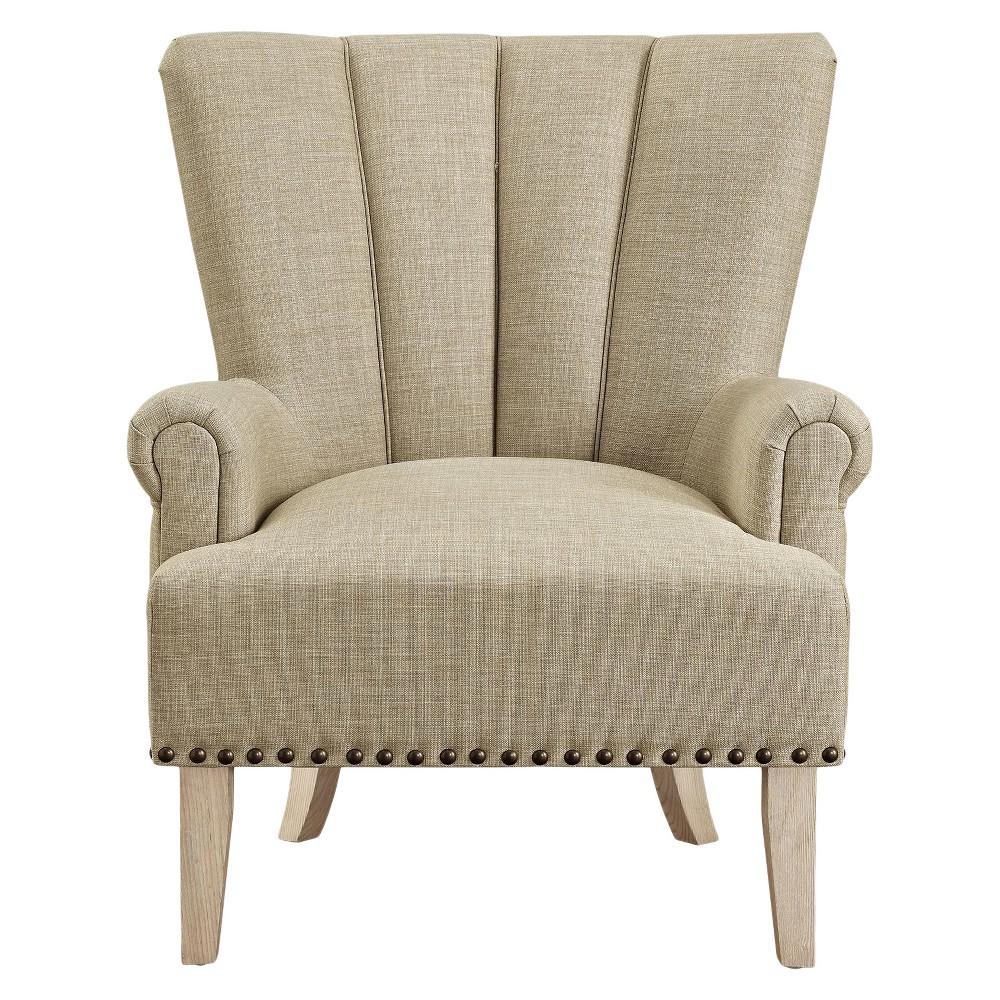 Atlas Accent Chair Beige - Dorel Living