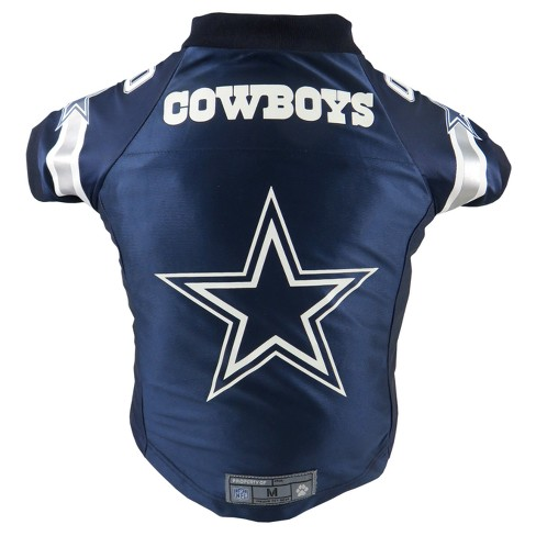 Dallas Cowboys Little Earth Pet Premium Football Jersey - Navy XS   Target d7bd90137