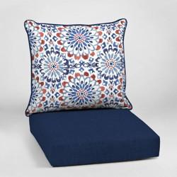 Clark Deep Seat Outdoor Cushion Set - Arden Selections