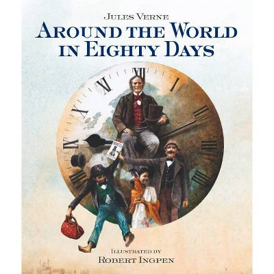 Around the World in Eighty Days - 2nd Edition by  Jules Verne (Hardcover)