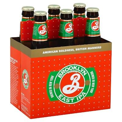 Brooklyn East IPA Beer - 6pk/12 fl oz Bottles