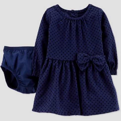 5232b81263d5 Baby Girls  Velvet Holiday Dressy Dress - Just One You® Made By ...
