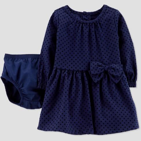 68323d7fa Baby Girls' Velvet Holiday Dressy Dress - Just One... : Target