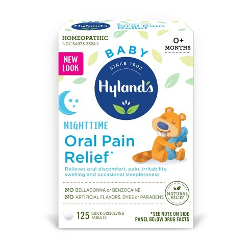Hyland's Baby Nighttime Oral Pain Relief - 125ct - image 1 of 1