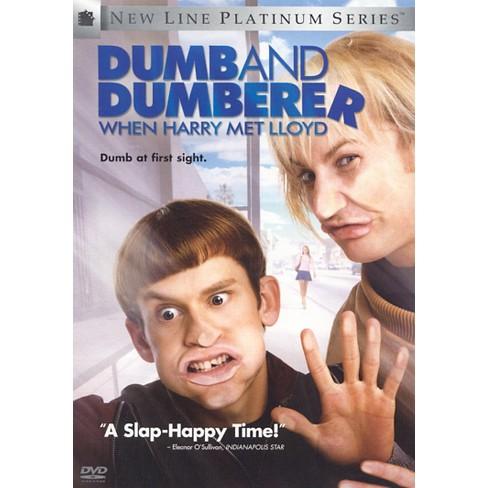 Dumb and Dumberer: When Harry Met Lloyd (New Line Platinum Series)  (dvd_video)