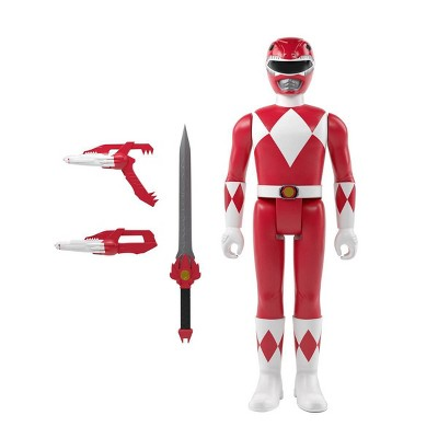 Mighty Moprhin' Power Rangers ReAction Figure - Red Ranger