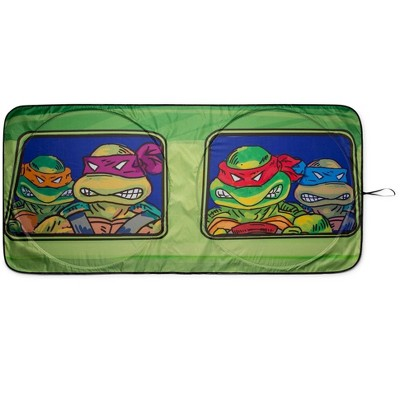 Surreal Entertainment Teenage Mutant Ninja Turtles Sunshade for Car Windshield | 64 x 32 Inches