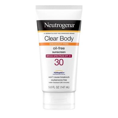 Neutrogena Clear Body Lotion - SPF 30 - 5 fl oz