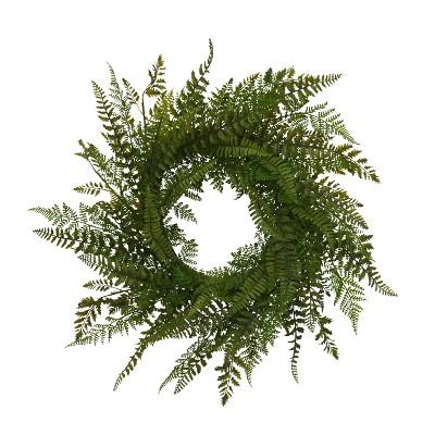 Gerson International 26-Inch Diameter Fern Wreath