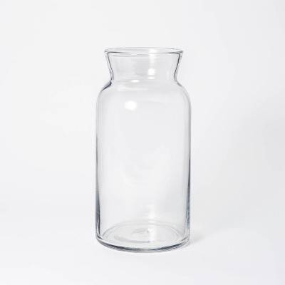 "14"" x 7"" Tall Glass Vase - Threshold™ designed with Studio McGee"