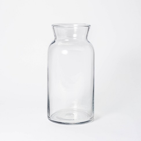 """14"""" x 7"""" Tall Glass Vase - Threshold™ designed with Studio McGee - image 1 of 4"""