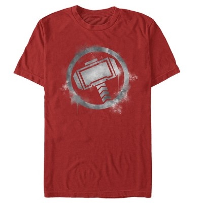 Men's Marvel Avengers: Endgame Smudged Thor T-Shirt
