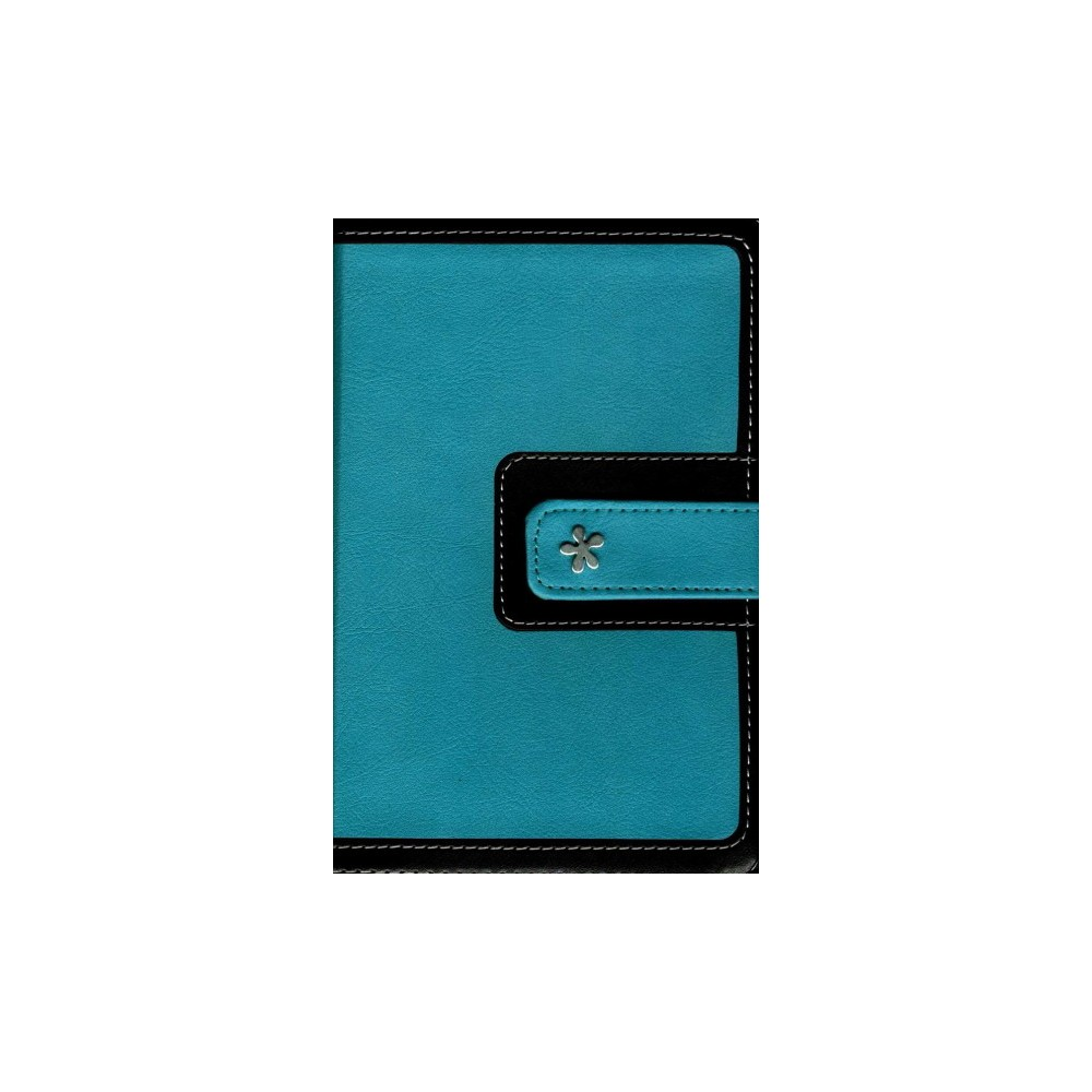 Holy Bible : New International Version, Turquoise/Chocolate, Leathersoft, Thinline, Red Letter