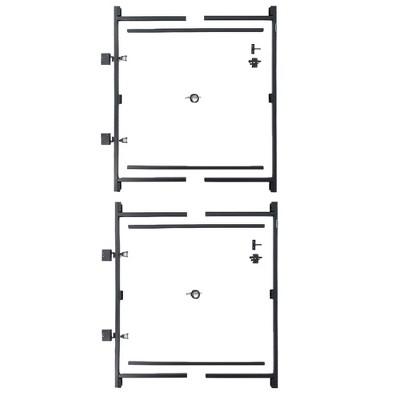Adjust-A-Gate Steel Frame Gate Kit & Adjust-A-Gate Steel Frame Gate Kit