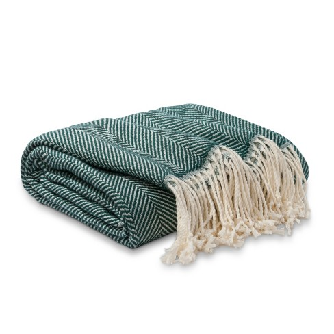 Herringbone Blanket Throw - Threshold™ - image 1 of 2