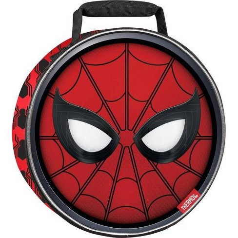 Thermos Spider-Man Round Lunch Bag - Red - image 1 of 3