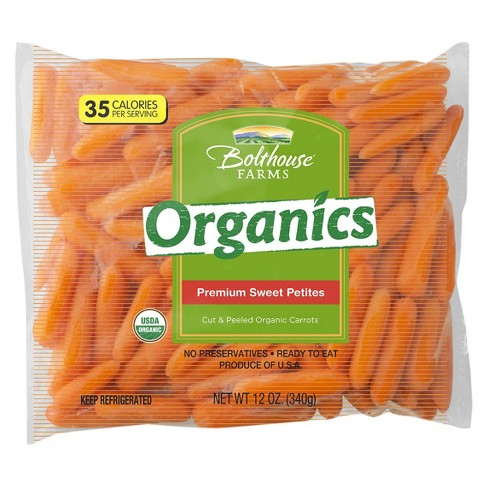 Bolthouse Farms Organic Premium Sweet Petites Carrots - 12oz - image 1 of 1