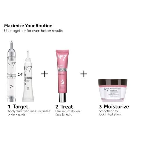 No7 Restore & Renew Face & Neck Multi Action Day Cream SPF 30 1 69oz