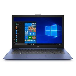 """HP 14"""" Stream Laptop Windows, 10S Touch 8+ hour battery life - (14-DS0036NR) - Royal Blue"""