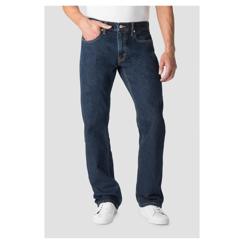Denizen from Levi's Men's 285 Relaxed Fit Jeans - Dark Stonewash 40x30
