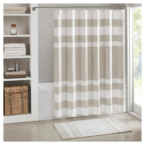 Spa Waffle Shower Curtains with 3M Treatments - image 1 of 1