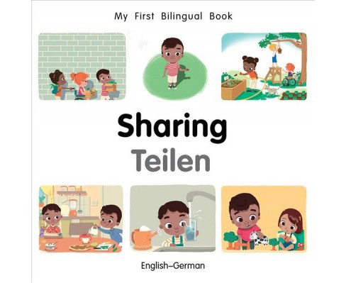 My First Bilingual Book-Sharing -  by Patricia Billings & Faith Erdogan (Hardcover) - image 1 of 1