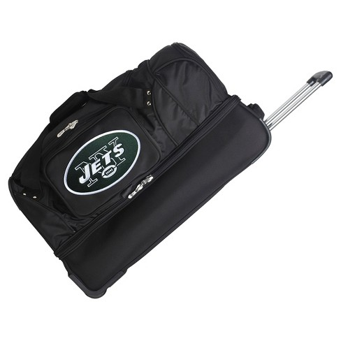 "NFL New York Jets Mojo 27"" Rolling Drop Bottom Duffel Bag - image 1 of 2"
