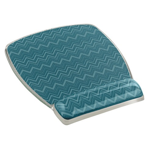 3m fun design clear gel mouse pad wrist rest 6 4 5 x 8 3 5 x 3 4