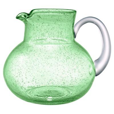 Artland Iris 2.7L Glass Pitcher Light Green