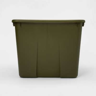 20gal Latching Tote Green - Room Essentials™