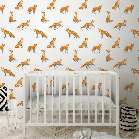 Fox Print Wallpaper - Cloud Island™ - image 1 of 2