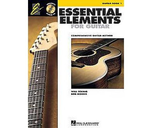Essential Elements 2000, Guitar, Book 1 : Comprehensive Guitar Method (Paperback) (Will Schmid) - image 1 of 1