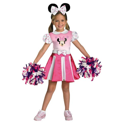 Mickey Mouse Clubhouse Girls' Toddler Minnie Mouse Costume - image 1 of 1