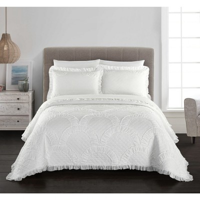 King Lesley Quilt Cream - Chic Home