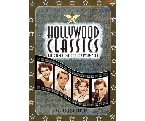 Hollywood Classics: The Golden Age of the Silver Screen (5 Discs) (Tin Can) (dvd_video) - image 1 of 1
