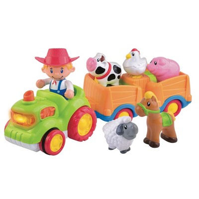 Fat Brain Toys Farm Friends Sound & Go Musical Tractor FB402-1
