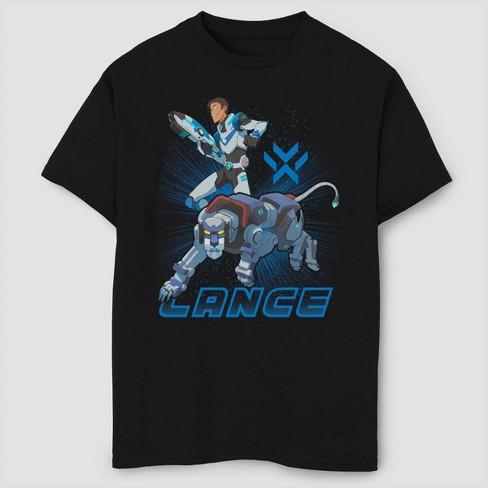Boys' Voltron: Legendary Defender Lance T-Shirt - Black - image 1 of 2