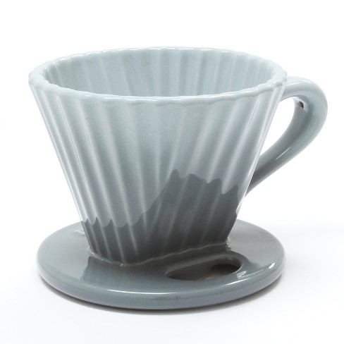Chantal Ceramic Pour Over - Fade Gray - image 1 of 12