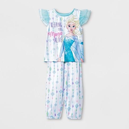 Toddler Girls' Frozen 2pc Pajama Set - Blue - image 1 of 1