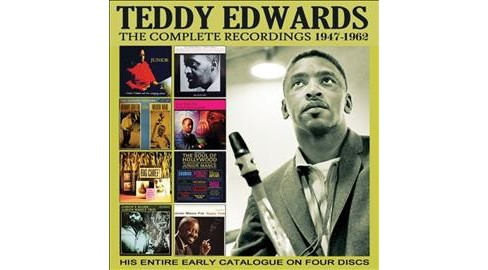 Teddy Edwards - Complete Recordings:47-62 (CD) - image 1 of 1