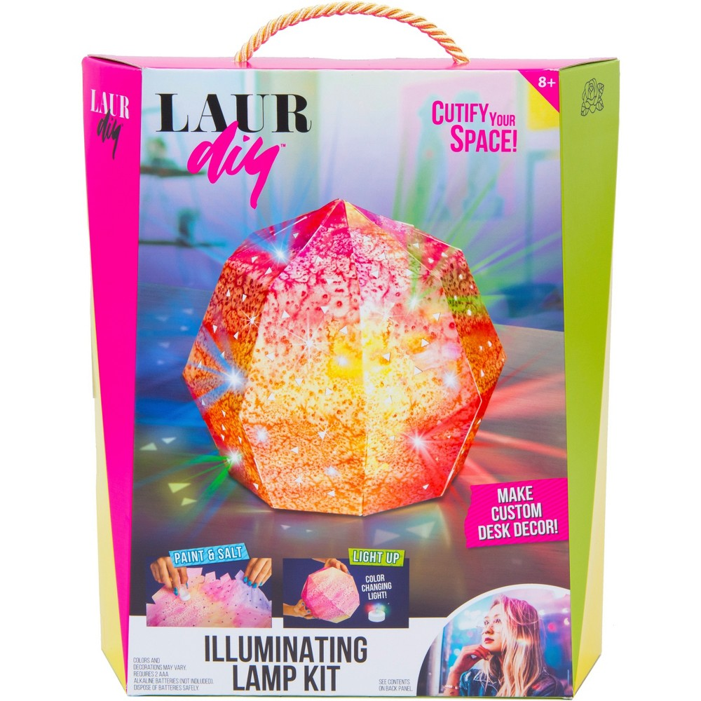 Image of LaurDIY Illuminating Lamp Craft Kit