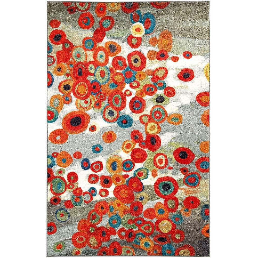 Image of 8'X10' Tossed Floral Area Rug - Mohawk