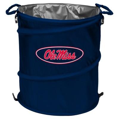 NCAA Logo Brands 3-in-1 Collapsible Cooler / Trash Can / Hamper