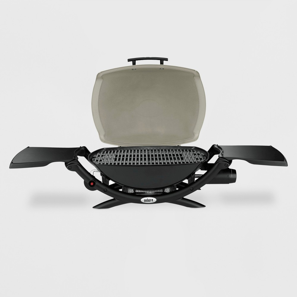 Weber Q 2000 LP Gas Grill, Tan 15027519
