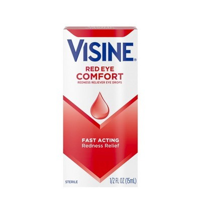Visine Redness Relief Original Sterile Tetrahydrozoline HCl Eye Drops .5-oz.