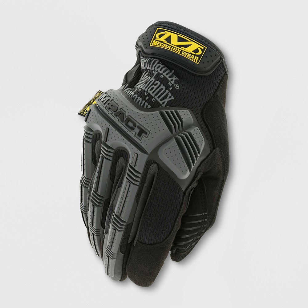 Image of M-Pact Gardening Gloves Black/Gray XL - Mechanix Wear, Adult Unisex