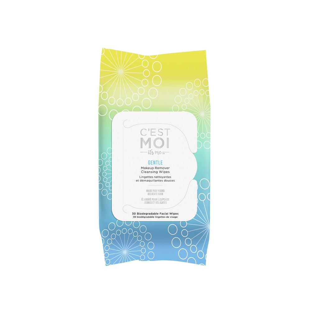 Unscented C'est Moi Gentle Makeup Remover Cleansing Wipes - 30ct