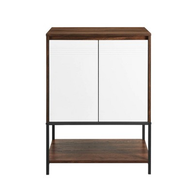 "24"" 2 Door Accent Cabinet with Lower Shelf - Saracina Home"