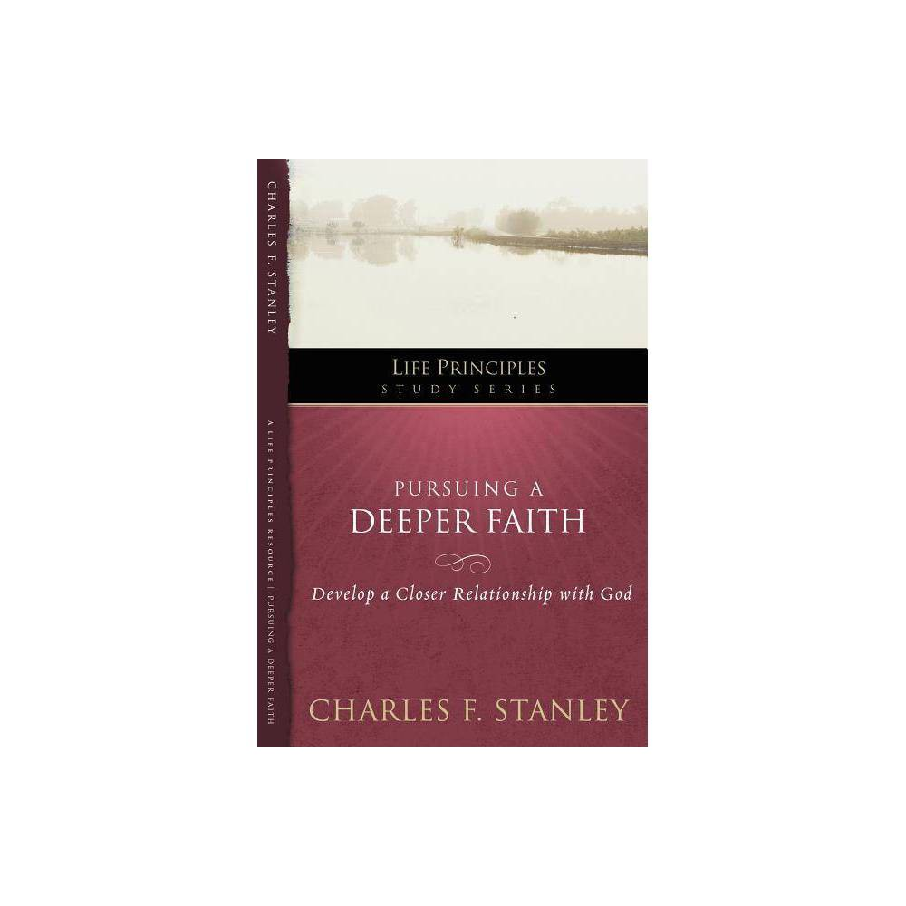 Lpsg Life Principles Study By Charles F Stanley Paperback