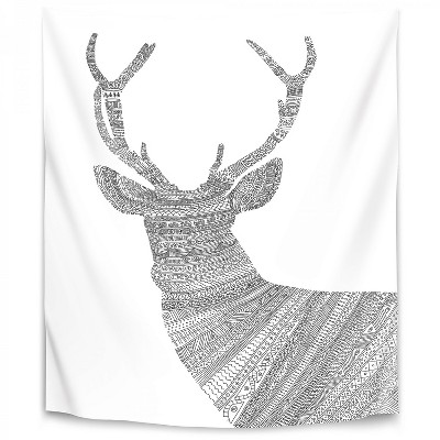 Americanflat Stag1 By Florent Bodart Wall Tapestry Target